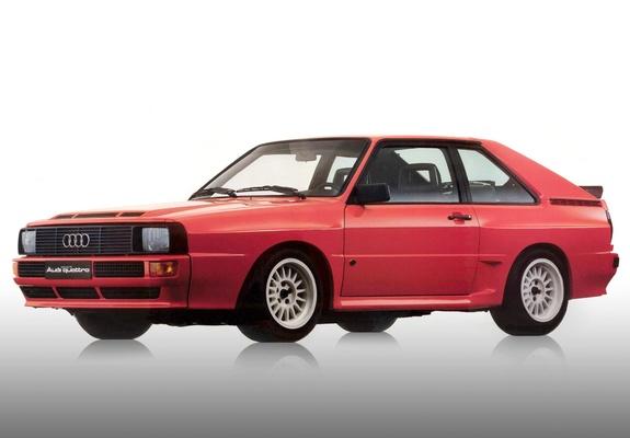 Sport quattro 2-deurs, coupé | 1983-1986