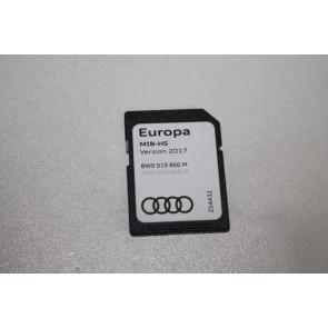 Sd-geheugenkaart navigatiesysteem europa 2017 div. Audi modellen Bj