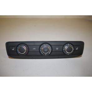 Climatronic paneel zwart/alu Audi A1, Q3 Bj 19-heden