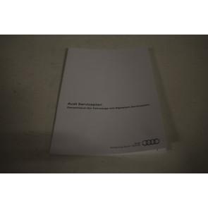 Audi serviceplan Duitstalig div. Audi modellen Bj 16-heden