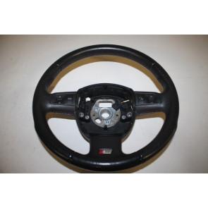 Multifunctiesportstuurwiel leer geperf. zwart Audi A3, A4 Cabrio Bj 04-09