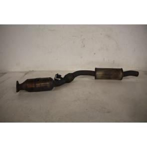 Uitlaatpijp met katalysator rechts 3.2 V6 benz. Audi A4 Bj 05-09