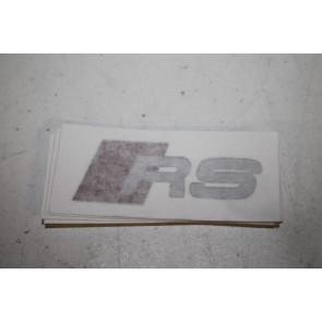RS Sticker imitatie geschikt voor alle RS Modellen