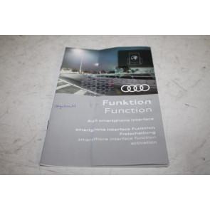 Activeringsdocument audi smartphone interface div. Audi modellen Bj 13-heden