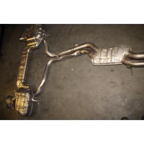 Middelste uitlaatdemper met einddemper 4.0 V8 TFSI benz. Audi RS6, RS7 Bj 20-heden