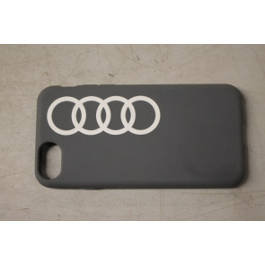 Audi softcase backcover grijs Iphone SE (2020), 8, 7, 6, 6S