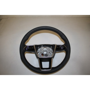 Multifunctiesportstuurwiel leer verwarmd zwart Audi A6, A7, E-Tron Bj 19-heden