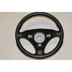 Sportstuurwiel 3-spaaks leer zwart Audi TT Bj 99-06