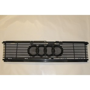 Grille zwart Audi 80, 90, Coupe, quattro Bj 85-91