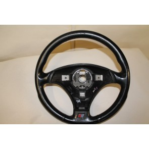 Stuurwiel 3-Spaaks leer zwart Audi A4, A6, A8, Cabriolet Bj 92-03