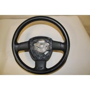 Sportstuurwiel leer geperf. zwart Audi A3, S3, A4, S4, A6, S6 Bj 04-08