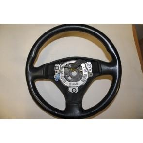 Sportstuurwiel 3-spaaks leer zwart Audi A2, A3, A6, A8 Bj 99-05