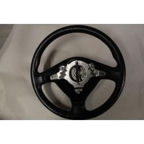 Sportstuurwiel 3-spaaks leer zwart Audi A3 Bj 97-00