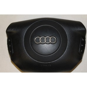 0552313 - 4B0880201AF01C - Stuur airbag zwart Audi A4, S4, A6, S6, A8, S8, RS4 Bj 98-03