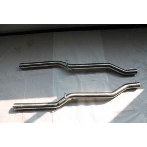 Milltek non resonated pipes Audi RS4 Bj 05-08