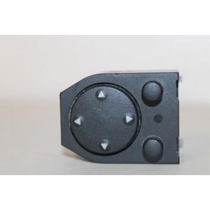 0555755 - 4A095956501C - Schakelaar buitenspiegelverstelling zwart div. Audi modellen Bj 87-00