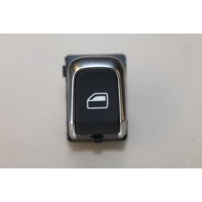Schakelaar elektr. ruitmechanisme zwart div. Audi modellen Bj 10-heden