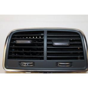 Luchtrooster zwart Audi A6, S6 Bj 11-heden
