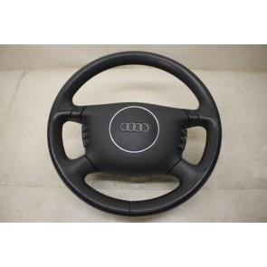 Multifunctiestuurwiel leer zwart Audi A6, S6, RS6, A8, S8 Bj 99-05