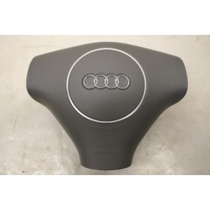 Stuur airbag donkergrijs Audi A2, A3, S3, A4, S4, A6, S6 Bj 00-07