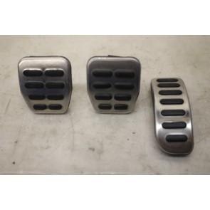 Set aluminium kappen voor pedalen ENGELS Audi TT Bj 99-06