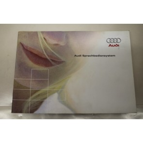 Instructieboekje duitstalig Audi spraakbedieningssysteem Audi A6, S6, RS6 Bj 01-05
