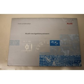 Instructieboekje navigatiesysteem nederlandstalig Audi A3, S3, A4, S4, A6, S6 Bj 97-01