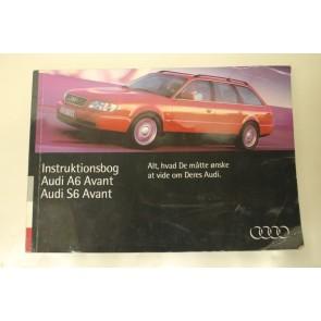 Instructieboekje zweedstalig Audi A6, S6 Avant Bj 94-97