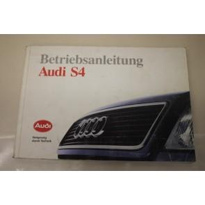 Instructieboekje duitstalig Audi 100 S4 Bj 91-94