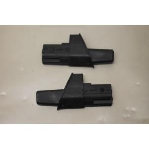 Spatlap bagageruimteafdekking L+R zwart Audi A4, S4, RS4 Avant Bj 01-08
