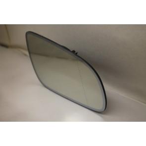 Spiegelglas (groothoek) met draagplaat rechts Audi A8, S8 Bj 03-07