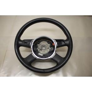 Multifunctiestuurwiel leer zwart Audi A8 Bj 03-07