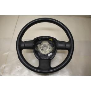 Sportstuurwiel 3-spaaks leer zwart Audi A3, A4 Bj 04-08