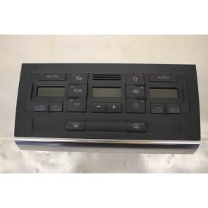 Climatronic paneel zwart Audi A4, S4 Bj 03-08