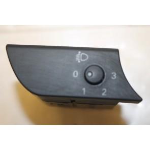 Schakelaar lichtbundelhoogteverstelling (ENGELS) zwart Audi A4, S4 Bj 01-09