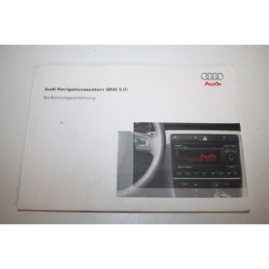 Instructieboekje Audi navigatie BNS 5.0 duitstalig Audi A4, S4, RS4 Bj 05-09