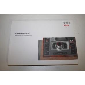Instructieboekje MMI duitstalig Audi A6, S6, Allroad Bj 05-08