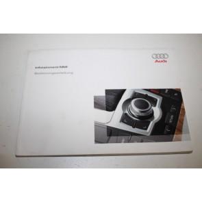 Instructieboekje MMI duitstalig Audi A6, S6, Allroad, RS6 Bj 08-11