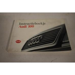 Instructieboekje nederlandstalig Audi 100 Bj 91-94