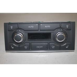Climatronic paneel AM zwart Audi A8, S8 Bj 03-10