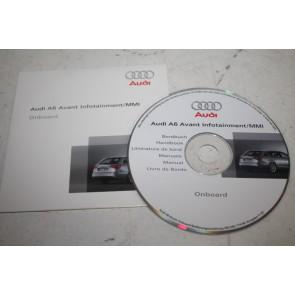 Cd-rom bedieningshandleiding MMI Audi A6 Avant Bj 05-08