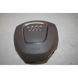 Stuur airbag grijsbeige Audi A8, S8 Bj 03-07