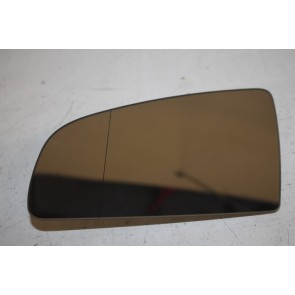Spiegelglas (groothoek) met draagplaat links Audi A3, S3, A4, S4, RS4, A6, S6 Bj 01-09