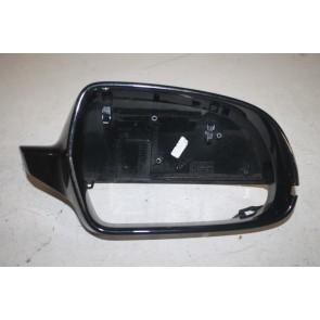 Afdekkap spiegel rechts phantomzwart div. Audi modellen Bj 08-17