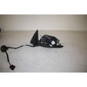 Buitenspiegel elektrisch. rechts zwart Audi A6, S6 Bj 05-08