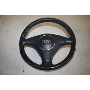 Sportstuurwiel leer zwart Audi A4, S4, Cabrio Bj 01-06