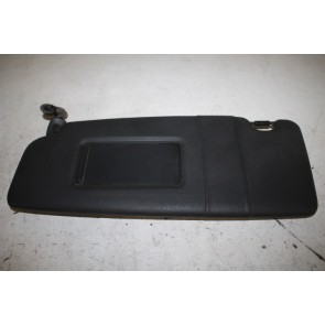 Zonneklep links zwart Audi A4, S4, RS4 Cabrio Bj 03-09
