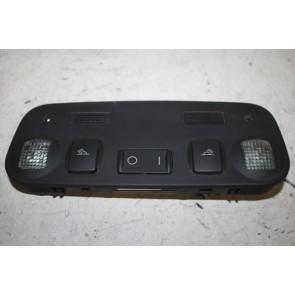Binnenverlichting en leeslampje zwart Audi A4, S4 Cabriolet Bj 03-06