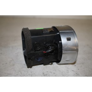 Luchtrooster midden zwart Audi A4, S4, RS4 Cabrio Bj 03-09