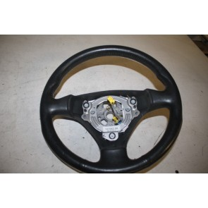 Sportstuurwiel 3-Spaaks leer zwart Audi A4, S4 Bj 01-06